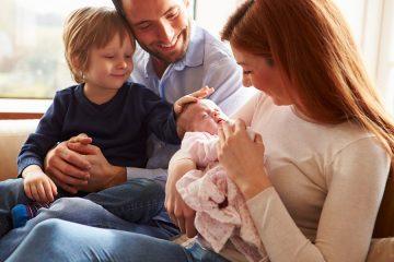 Relatia mamei cu primul copil atunci cand a venit al doilea copil